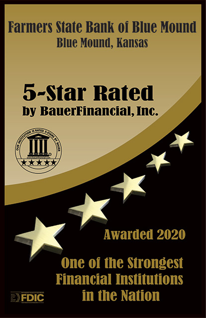 Our Institution is rated 5-Stars by Bauer - September June 2020